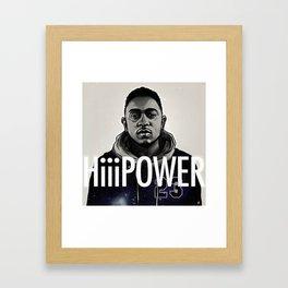 HiiiPower Framed Art Print