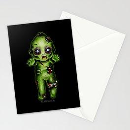 Zombie Kewpie Stationery Cards