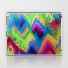 BOLD QUOTATION 2 - Colorful Bright Cheerful Fine Art Chevron Pattern Ikat Quote Modern Painting Laptop & iPad Skin
