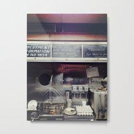 Diner Living. Metal Print