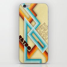 Retro Meaning iPhone & iPod Skin