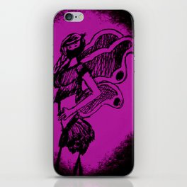 "Women with no faces--series ""Fairy iPhone Skin"