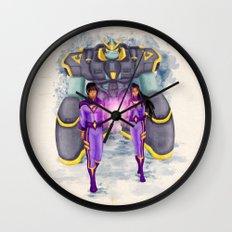 The Wonder Twins + Gleek Wall Clock