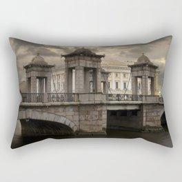 Postcards from Petersburg - Lomonosv Bridge Rectangular Pillow