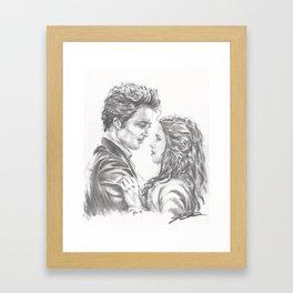 Twilight - Edward & Bella Framed Art Print