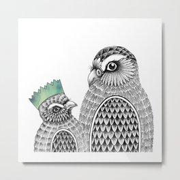 Bird Life Metal Print
