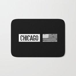 U.S. Flag: Chicago Bath Mat