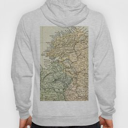 Encyclopedia Retro Map of Northern Ireland Hoody