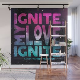 Shatter Me - Ignite, My Love Wall Mural