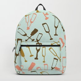 wine glasses Backpack
