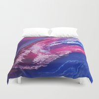 passion Duvet Covers featuring Passion by Lise Dumas Richard