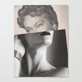Timeless Glamour Canvas Print