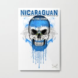 To The Core Collection: Nicaragua Metal Print