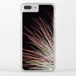 Shot in Explosions Clear iPhone Case