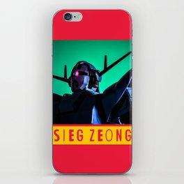 sieg zeong iPhone Skin