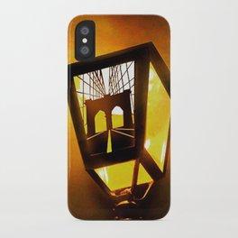 Brooklyn Bridge Lantern iPhone Case