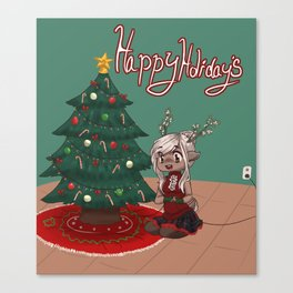 Happy Holidays! Canvas Print