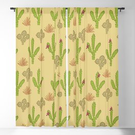 Cactus Design Blackout Curtain