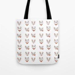 Peach precious kittycats Tote Bag