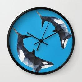 Killer Whale. Wall Clock