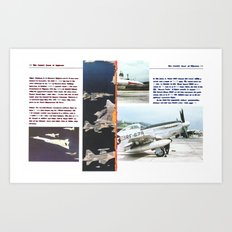 Planes # 12 Art Print