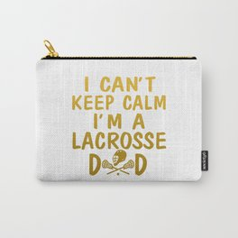 I'M A LACROSSE DAD Carry-All Pouch