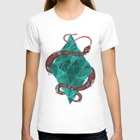 crystal T-shirts featuring Mystic Crystal by Hector Mansilla
