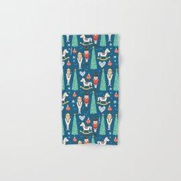 Nutcrackers under the Christmas Tree Hand & Bath Towel