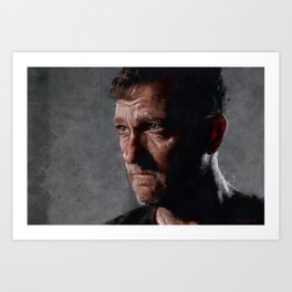 Richard From The Kingdom - The Walking Dead Art Print