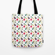 the crew (pattern version) Tote Bag