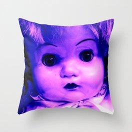 Empty Violet Throw Pillow