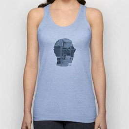 Poster Face #1 Unisex Tank Top