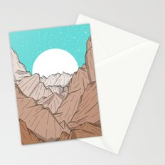 The Mountains of Old Stationery Cards