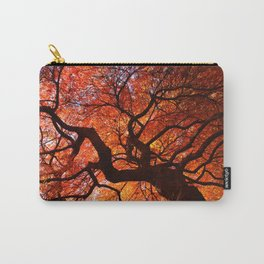 Ephemeral - Fall Maple Leaves, Nature Photography Carry-All Pouch