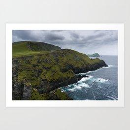 Kerry Cliffs II Art Print