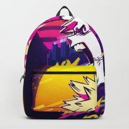 Katsuki Bakugo my hero academia retro art Backpack