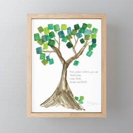 Find a Place  Framed Mini Art Print