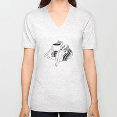 Big Breakfast Unisex V-Neck