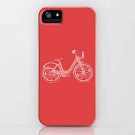 Montréal - Bixi - White iPhone Case