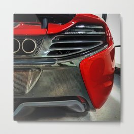 Can-Am McLaren 650S Spider Metal Print