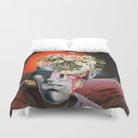 eugenia loli Duvet Covers featuring Relics by Eugenia Loli