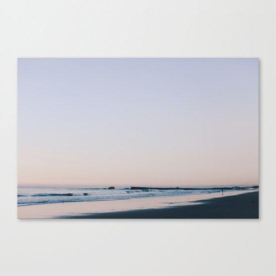 violet & indigo Canvas Print