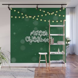 Happy new year sale sign banner card Wall Mural
