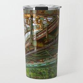 Rusted Sunset Bridge Travel Mug