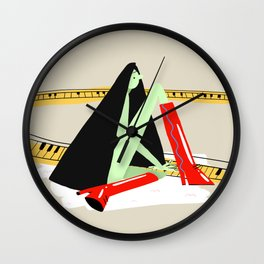 Bennie and the Jets Wall Clock