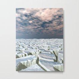 Fragmented Landscape Metal Print