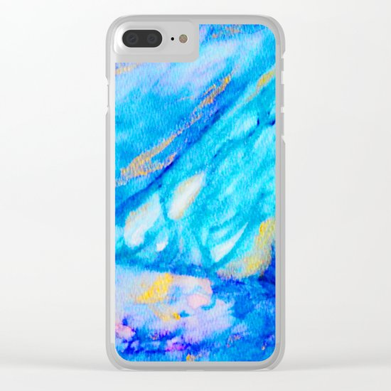 Rain in the Sun Clear iPhone Case