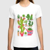 cactus T-shirts featuring Cactus by Hui_Yuan-Chang