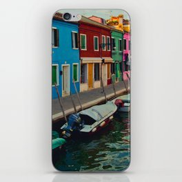Burano Island II iPhone Skin