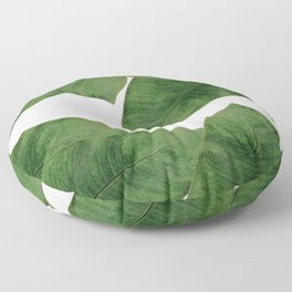 Banana Leaf II Floor Pillow